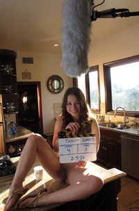 Taylor Sands Behind The Scene