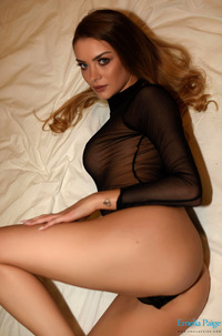 Emelia Paige Strips On Her Bed