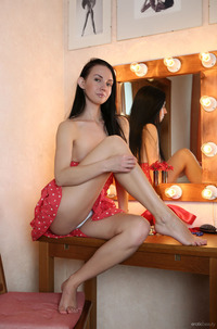 Latin Girl Veronica Snezna In Sexy Panties