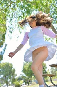 Schoolgirl Kelly Strips In Public
