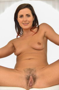 MILF Helena Showing Hairy Pussy In Air