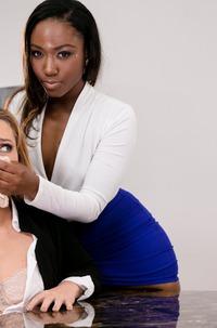 Ebony Beauty Gets Her Pussy Licked
