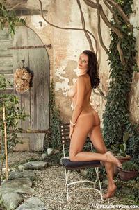 Manja Dobrilovic Swimming Nude In Pool