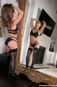 Melissa Lori In Front Of Mirror