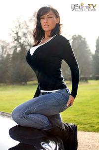 Fernanda Ferrari Flashing Her Perfect Latina Boobs