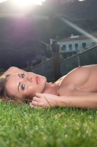 Horny Blonde Babe Becky Roberts