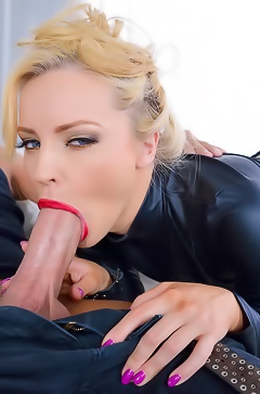 Staci Carr Blowing Hard Cock
