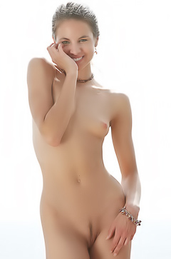 Shaved Skinny Girl