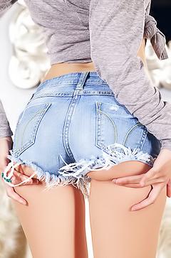 Iana Little - Jeans Ass