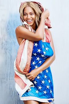 USA superstar Beyonce Knowles