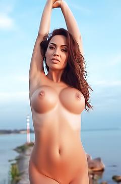 Busty Adrienn Levai