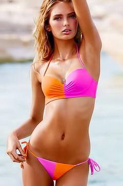 Romee Strijd - bikini look