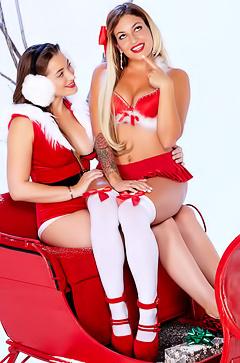 Winter Orgy With Dani Daniels & Kissa Sins