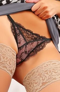 Charlotte Springer - stockings