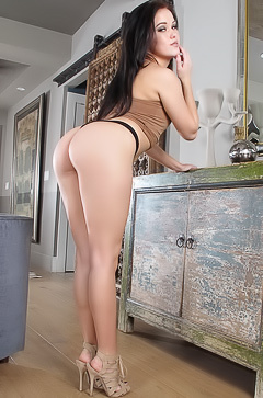 Megan Rain has adorable butt