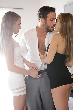 Kimmy Granger having 3some fun