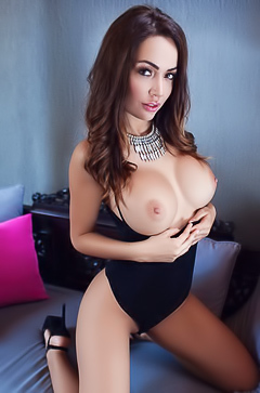 Beautiful Adrienn Levai and her boobs