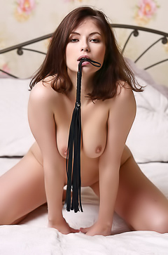 Jenna - sexy games with whip