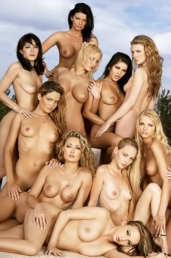 Hot and naked babes