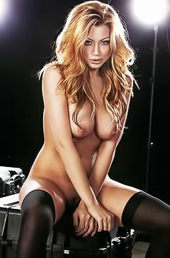 Super playboy model Jessica Vaugn