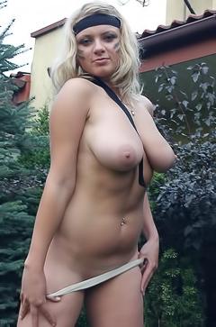 Malina May - naked military dangerous babe