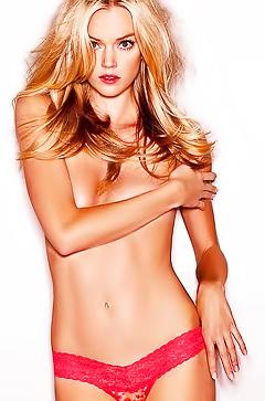 Famous lingerie model Lindsay Ellingson
