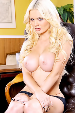 Alexis Ford - busty and hot blonde