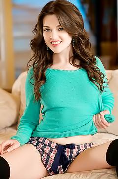 Serena Wood - teen panties