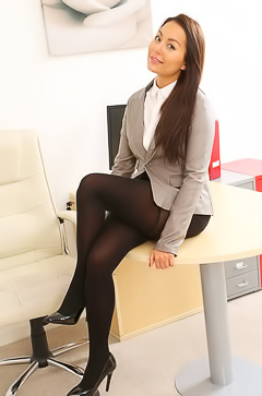 Office babe Lily S