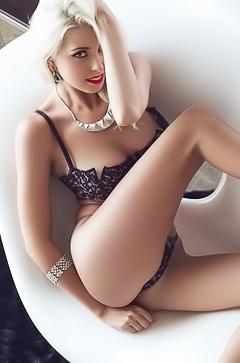 Platinum Blonde Girl Alissa Arden