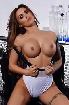Gemma Massey and her amazing big boobs