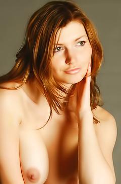 Redhead hottie Maria D