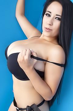 Chloe and her super big boobs