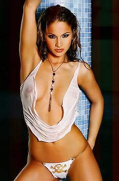 Famous celeb Krisztina Polgar