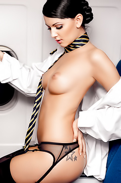 Naked Stewardesses