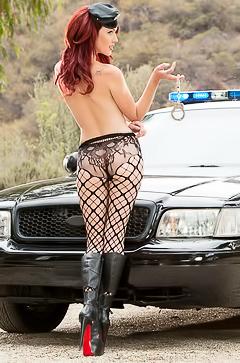 Police Police Officer Elle Alexandra