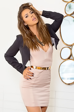 Elegant Secretary Gia Ramey-Gay