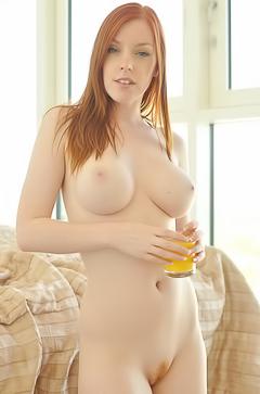 Big titted redhead Fi Stevens