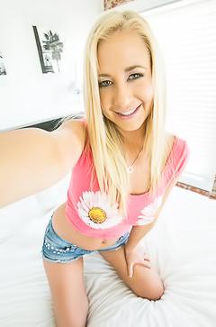 Playful busty teen Tara Morgan