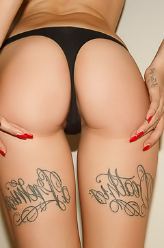 Natasha Legeyeda - glam tattoos