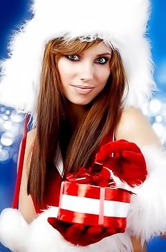 Glamour Christmas babes