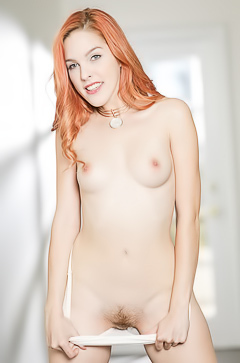 Hot redhead Amarna Miller