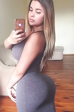 Anastasiya Kvitko and her big ass