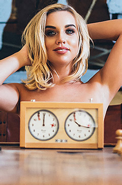 Gorgeous Blonde Hannah Martin