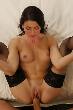 Jessica Rex enjoys big dick inside