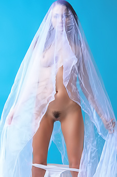 Stripping bride Michaela Isizzu