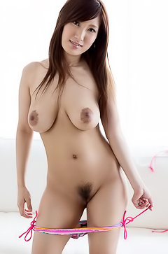Busty and hairy Japanese Yume Mitsuki