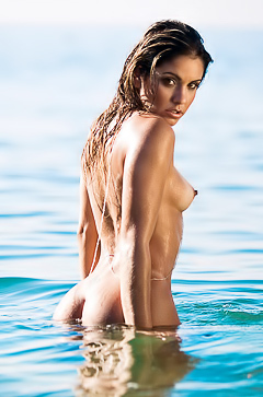 Marcella Matos - so hot model in Paradise
