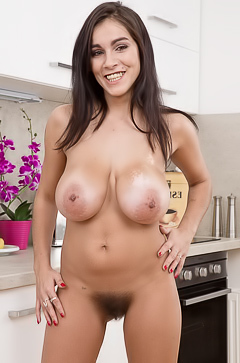 So hairy busty babe Mischel Lee
