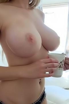 ExGirlfriends show their big tits